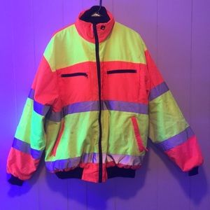 Other - High visibility jacket XL stained reversible Hivis